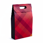Caja de 3 botellas con asa - Red Diamonds